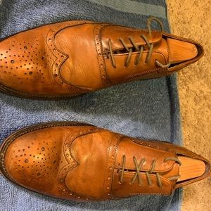 Johnston & Murphy Brown Dress Shoes - 10M - Used